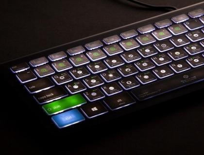 Editors Keys Flight Simulator X Gaming Keyboard