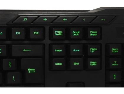 AdessoEasy TouchRGB Backlit Gaming Keyboard