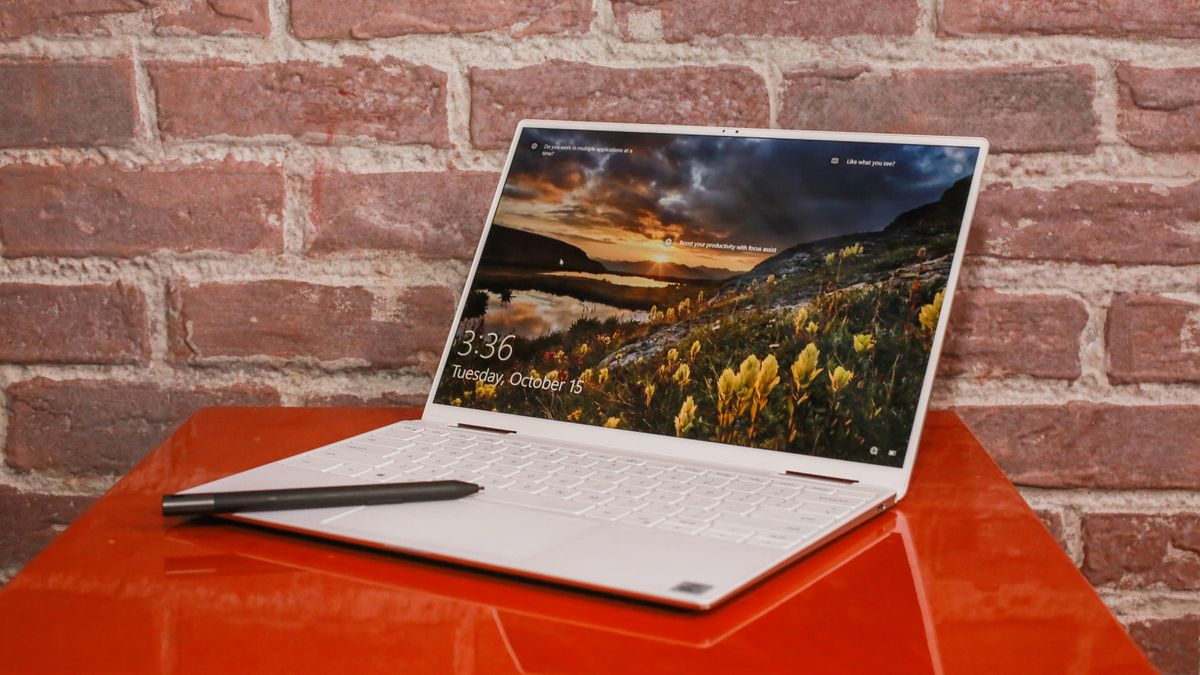 Dell XPS 13 7390 2 in 1 Laptop Comet Lake 10th Gen Core i7