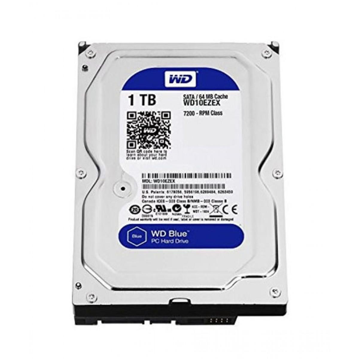 WD Blue 1TB SATA PC Desktop Internal Hard Drive