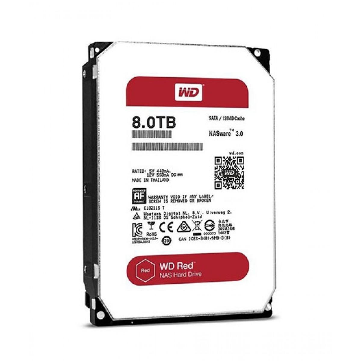 WD Red 8TB SATA NAS Internal Hard Drive