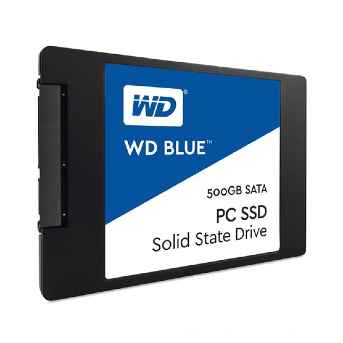 WD Blue 500GB SATA III Internal SSD (WDS500G1B0A)