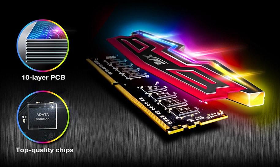 Adata XPG Spectrix 8GB DDR4 3200Mhz  RAM