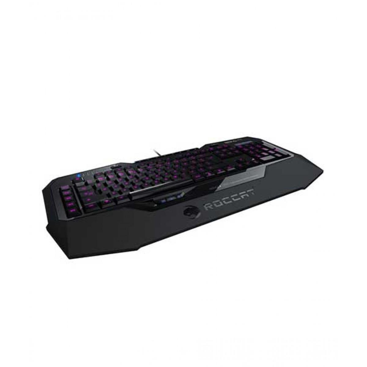 Roccat Isku=FX=MultiColor Gaming Keyboard Black