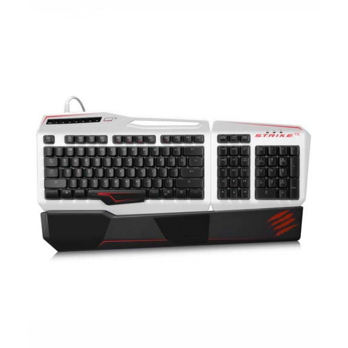 Gaming Keyboard for=PC=White