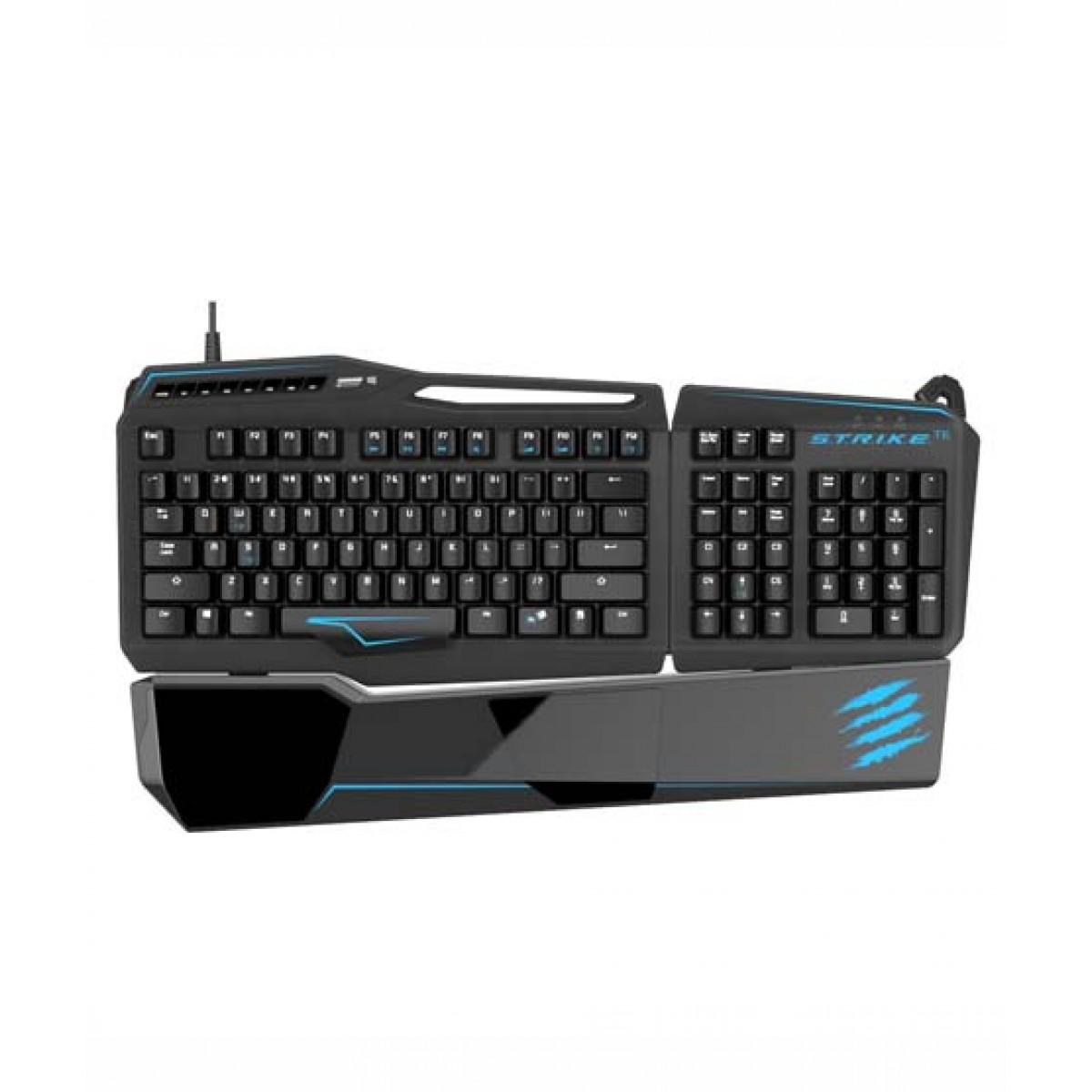 TE Gaming Keyboard for PC Matte Black  PC