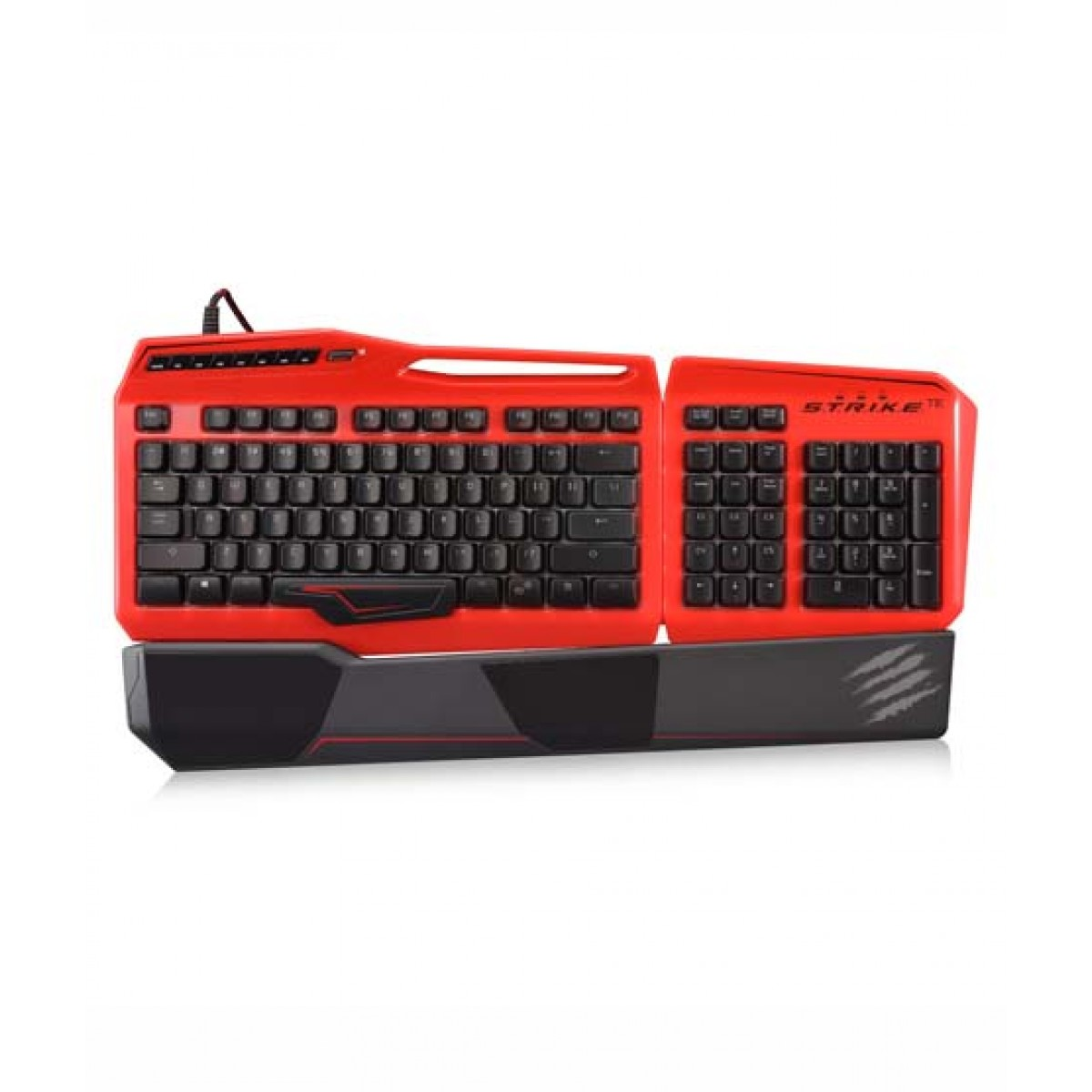 TE Gaming Keyboard for PC Red=