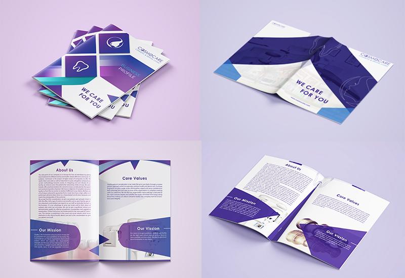 Company Profile Designing