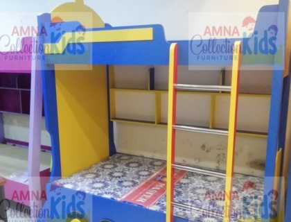 Train Theme Bunk Bed