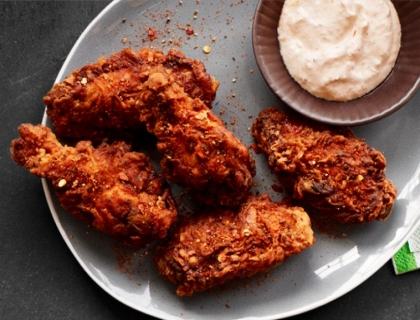 Crispy Fried Wings (6 pcs)