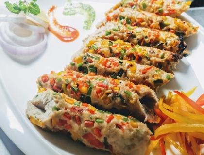 Chicken Seekh Kabab