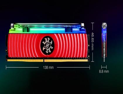 AData XPG Spectrix D80 16GB Liquid Cooled RGB RAM