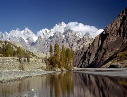 Hunza Valley  Hopar Glacier