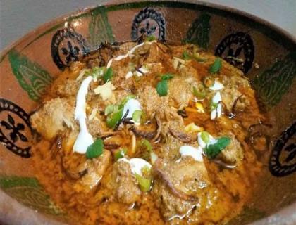 Chicken Mughlai Handi