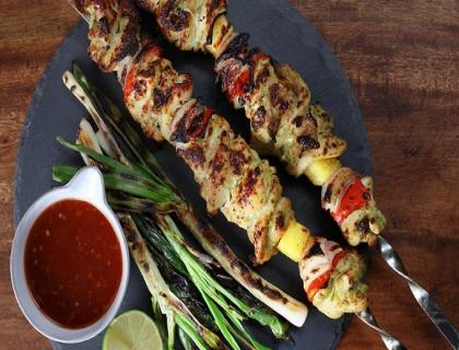 LOF Khoya Badam kabab
