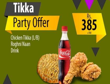 Deal10(TikkaPartyOffer)