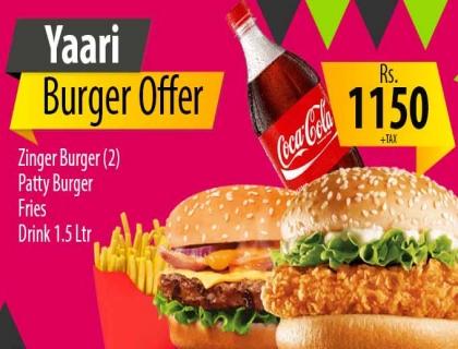 Deal2(YaariBurgerOffer)