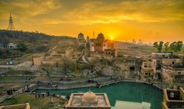 Khewra Mine  Katas Raj Temple