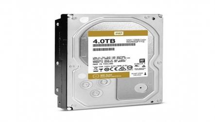 WD Gold 4TB SATA EnterpriseCl internal Hard Drive