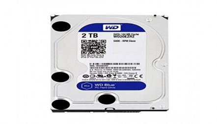 WD Blue 2TB SATA PC Desktop Internal Hard Drive