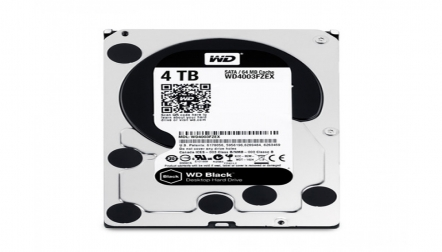 WD Black 4TB SATA Performance Desktop internal Hard Drive