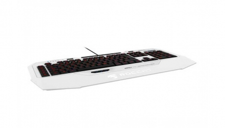 Roccat Isku FX MultiColor Gaming Keyboard White