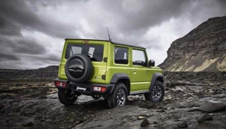 The jimny jeep Offroad